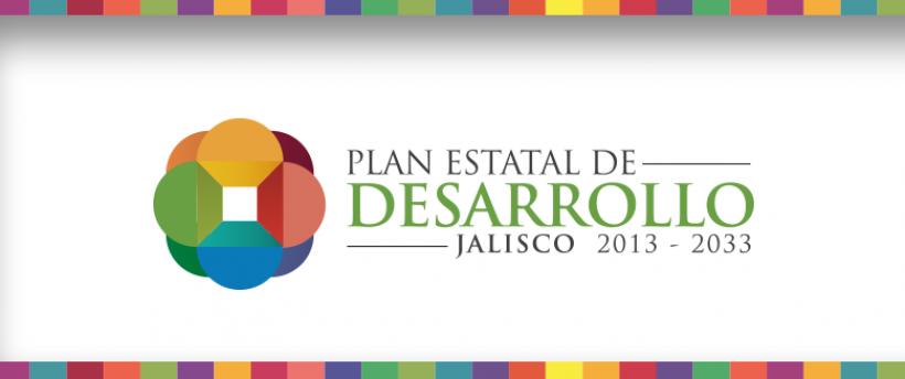 Imagen que promociona el plan estatal de desarrollo Jalisco 2013-2033